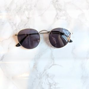 Nastygal round sunglasses